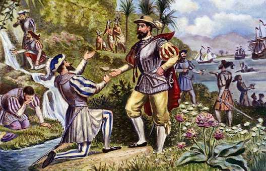 Ponce De Leon Painting