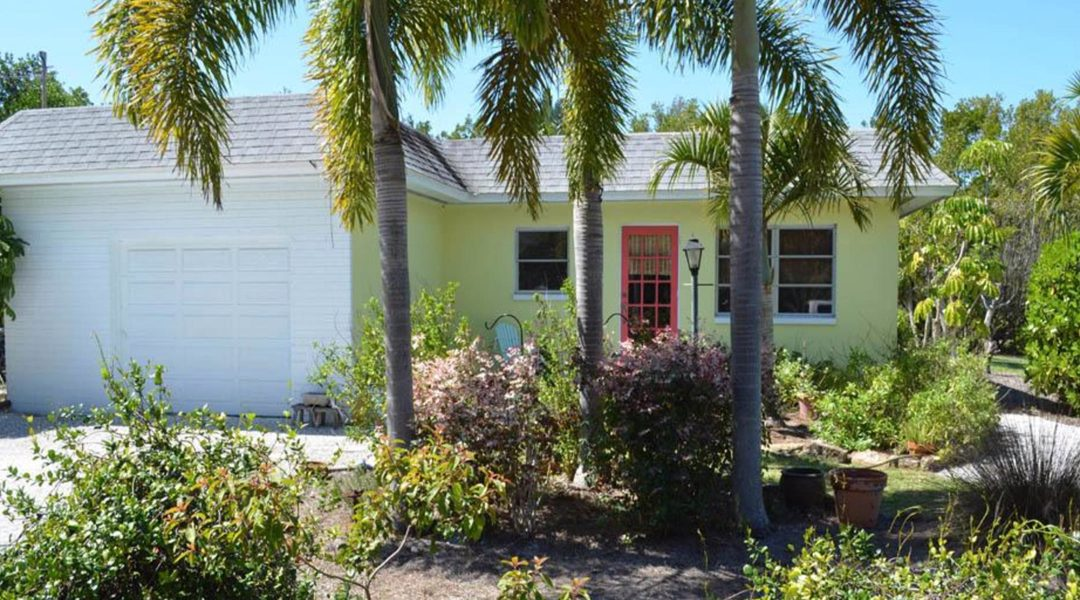 Canal-Front Home on Gorgeous Lot for Sale in West Sanibel – Live In or Rebuild