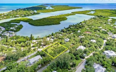 A Boater's Dream: Double Canal-Front Lot For Sale On Sanibel