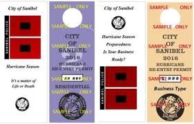 sanibel reentry pass