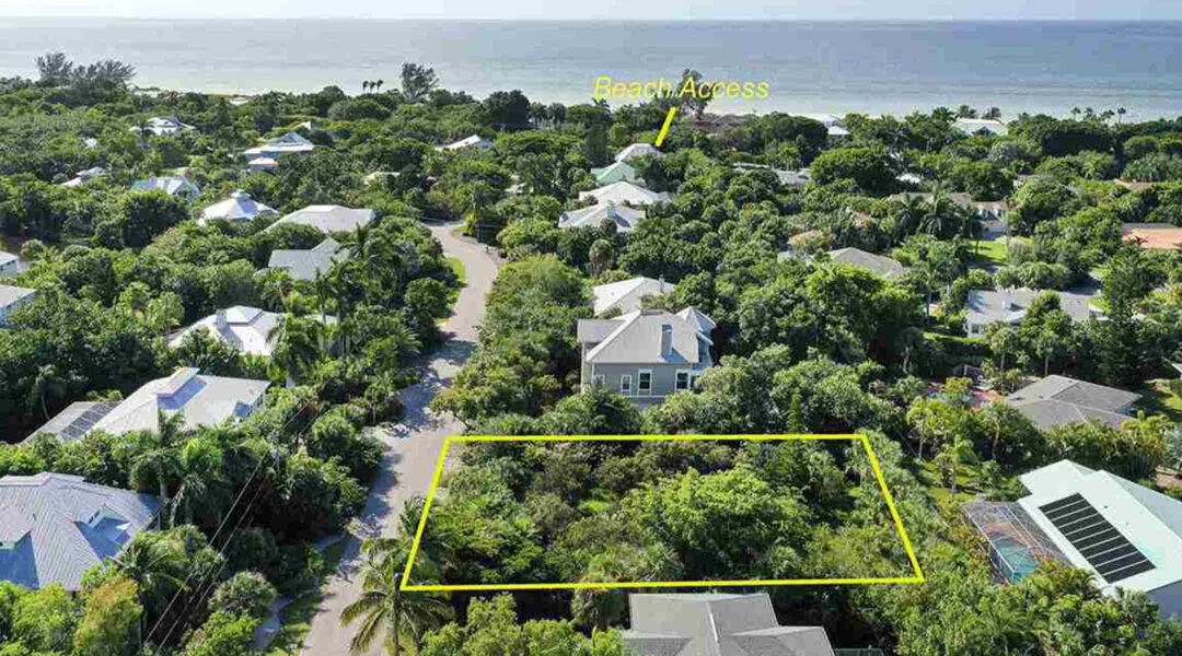 Vacant Sanibel Lots Update: December 2020